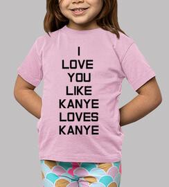 kanye amour enfant, rose