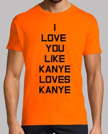 Kanye Love Hombre, naranja