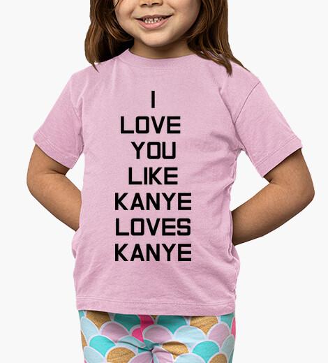 Ropa infantil Kanye Love Niño, rosa