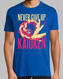 Kaoiken - Never Give Up - Dragon Ball - Son Goku (Hombre, Manga Corta)