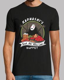 kaonashis comen todo lo que usted puede buffet camisa