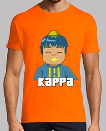 kappa orange shirt