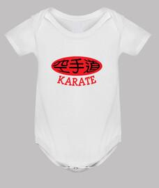 karate bebés de alta - de artes marciales