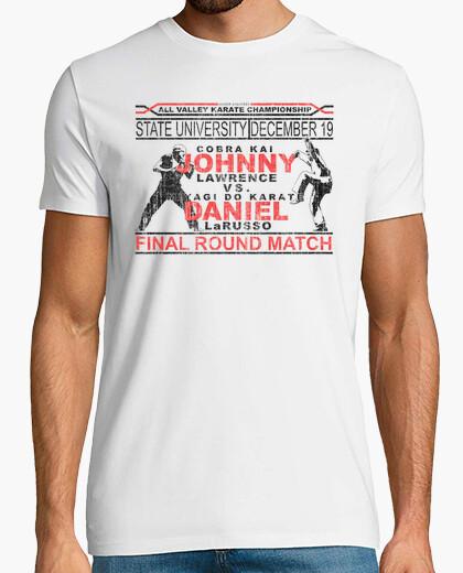 Camiseta Karate Kid Combate Final