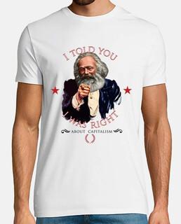 Karl Marx I told you