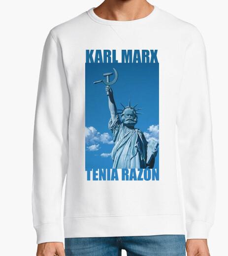 Sudadera Karl Marx tenia razon xd