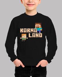 Karmaland Minecraft Niña
