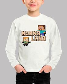 Karmaland Minecraft Niño Invierno