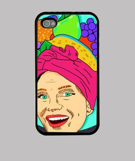 karneval - iphone hüllen 4 fall, schwarz