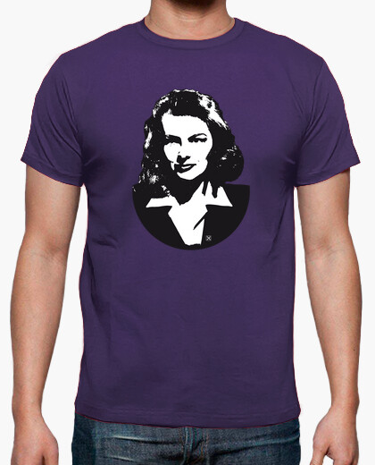Katharine Hepburn camiseta hombre