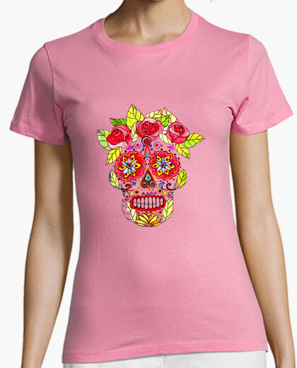 Katrina mexico short sleeve pink girl t-shirt