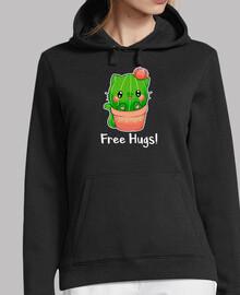 Katze Kaktus Fre Umamarmungen
