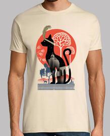 katzen-deko-shirt herren