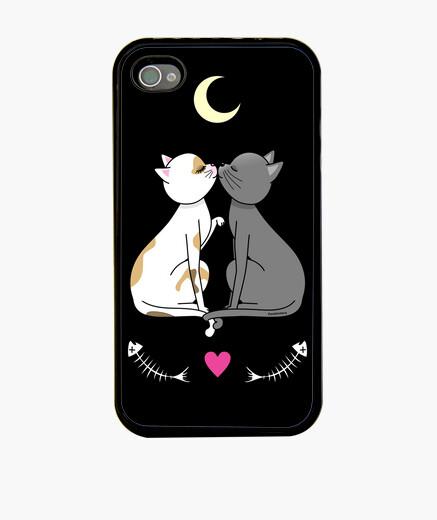 IPhone Hülle katzen enamorados kawaii