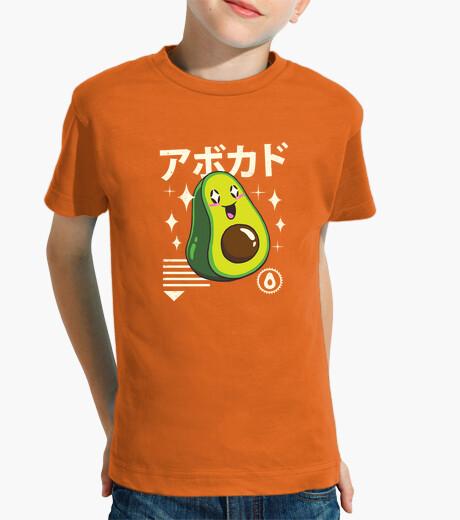 Ropa infantil kawaii aguacate camisa niños