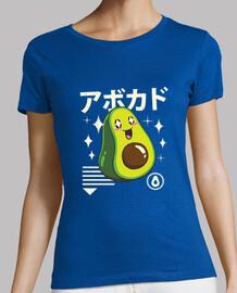 kawaii aguacate camisa para mujer