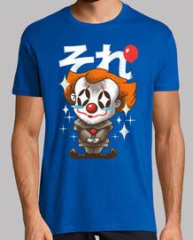 kawaii él camisa del payaso