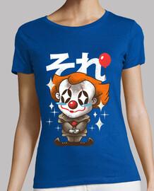 kawaii él camisa del payaso para mujer