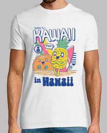 kawaii en hawaii camisa para hombre