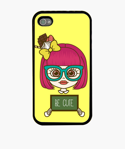 Funda iPhone Kawaii girl iPhone4