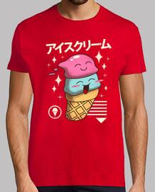 Kawaii Ice Cream Shirt Mens