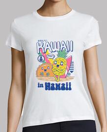 kawaii in hawaii shirt womens