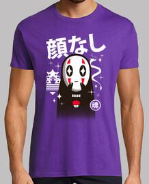 kawaii kaonashi camisa para hombre