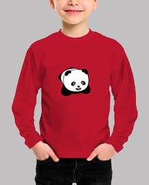 kawaii panda kids t-shirt