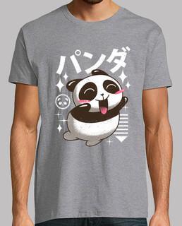 kawaii panda shirt herren