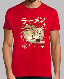 kawaii ramen camiseta para hombre