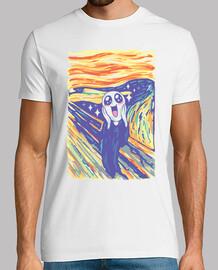 Kawaii Scream Shirt Mens