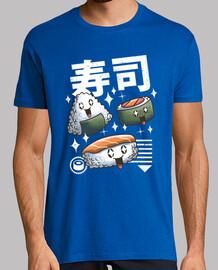 kawaii sushi shirt herren