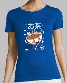 kawaii tea shirt women