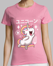 Kawaii Unicorn Shirt Womens