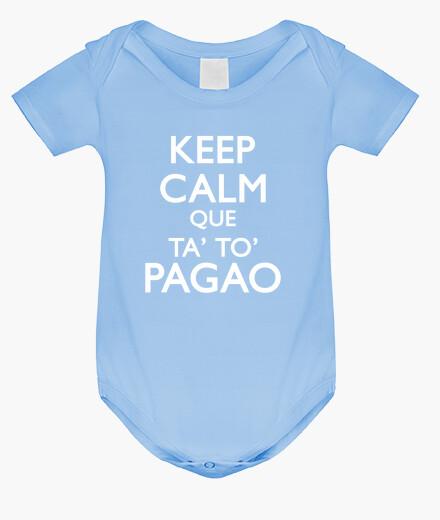Vêtements enfant keep calm