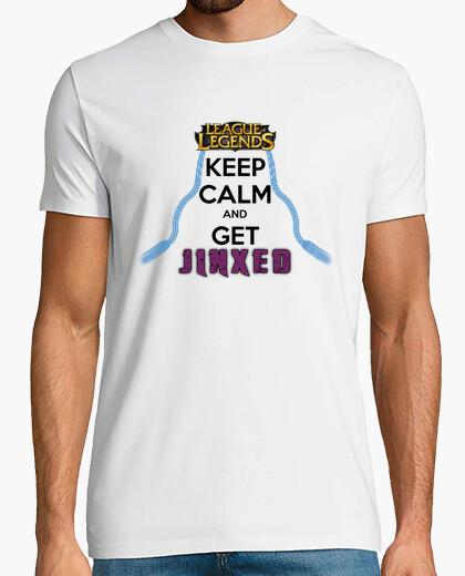 508ed5898b Camiseta KEEP CALM - League of Legends Jinx - nº 416822 - Camisetas ...