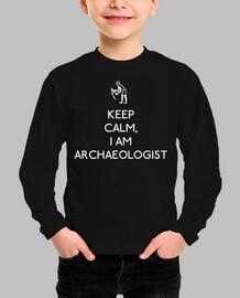 keep calm  je suis archéologue