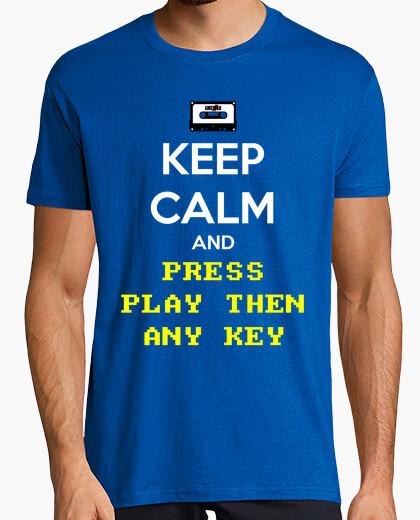 Camiseta keep calm amstrad