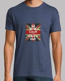 Keep Calm an Have a Pint. British