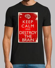 Keep Calm and  Destroy The Brain