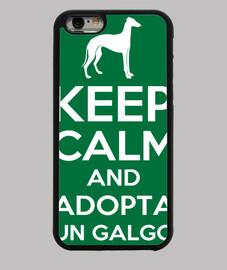 Keep Calm and Adopta un galgo