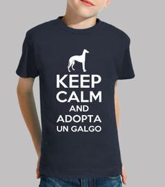 keep calm and adopte un lévrier