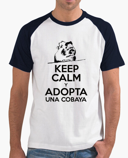 Keep calm and adopts a cavy t-shirt