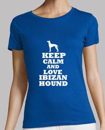 keep calm and aimer ibizan hound