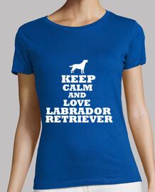 keep calm and aimer labrador retriever