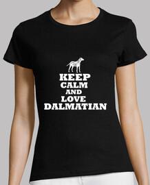 keep calm and aimer le dalmatien