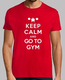 keep calm and aller à la gym