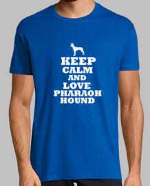 keep calm and amore pharaoh hound