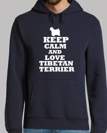 keep calm and amore terrier tibetano