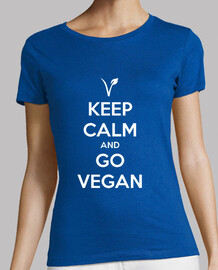 keep calm and andare vegan